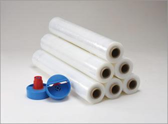 2.5インチ紙管用 ストレッチフィルム ホルダー