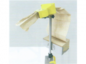 紙緩衝材製造機 軽量物などのスキマ埋め用 手動繰り出し・卓上モデル NP X-Fill Mシリーズ MTタイプ
